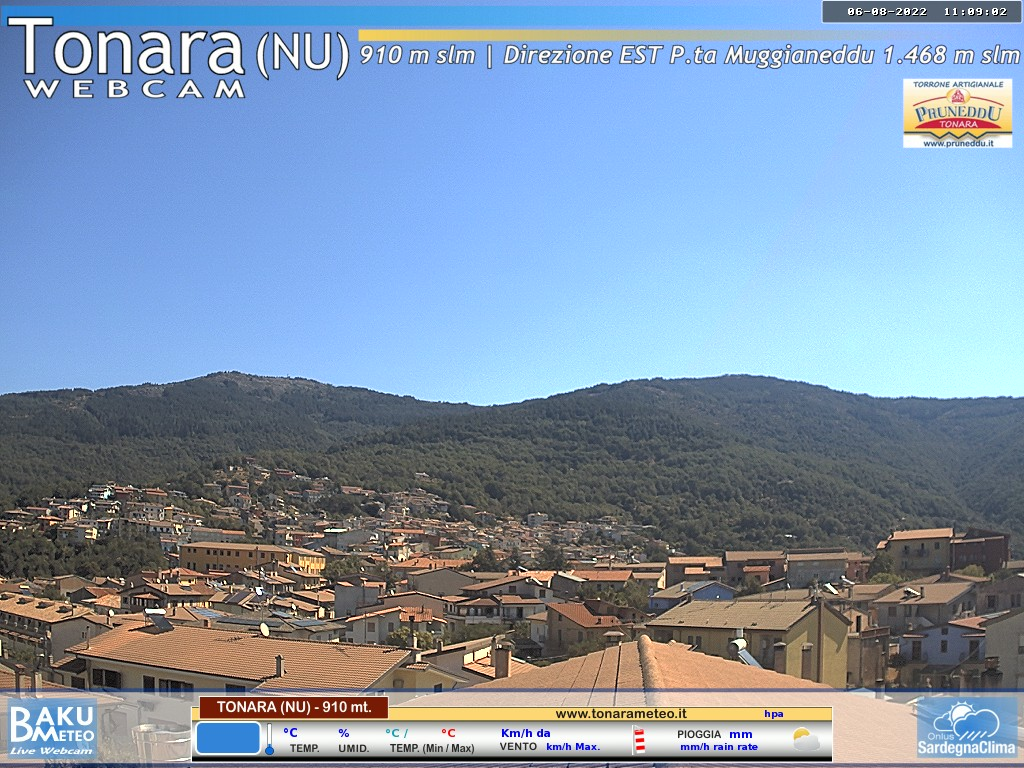 Webcam Tonara Nu - 910 mt s.l.m.