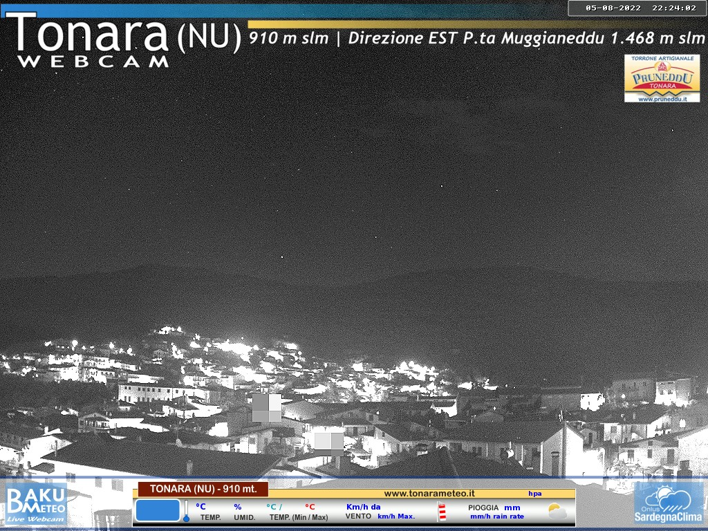 Webcam Tonara Nu - 910 mt s.l.m. Live webcamera