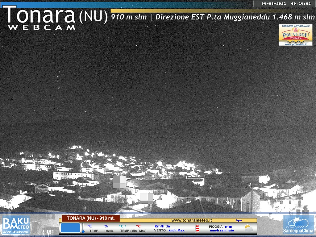 Webcam Tonara Nu - 910 mt s.l.m.&nbsp;Live webcamera