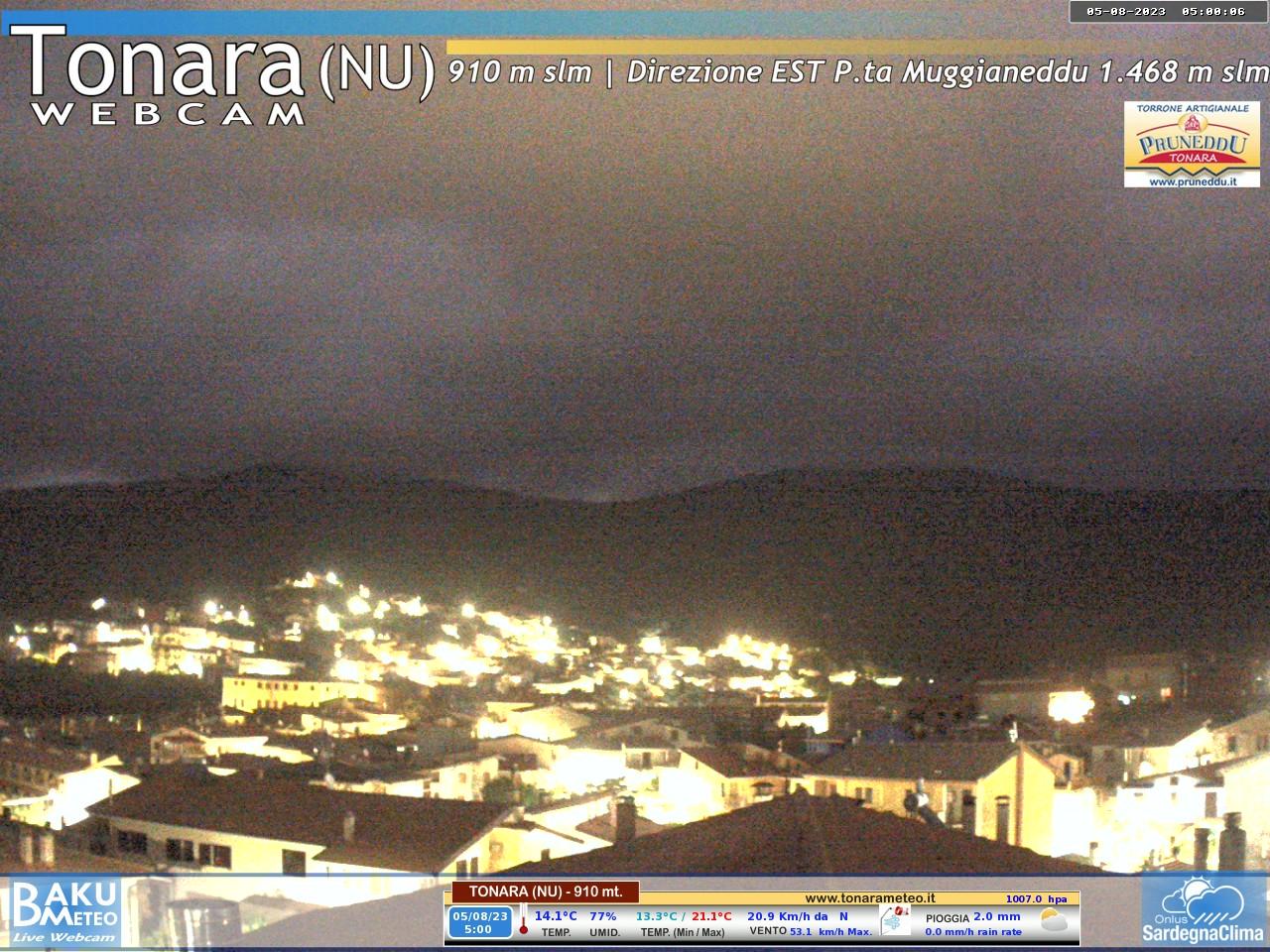 Webcam Tonara - Tonara Meteo